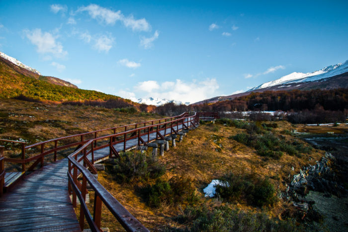 Trekking in Tierra del Fuego National Park